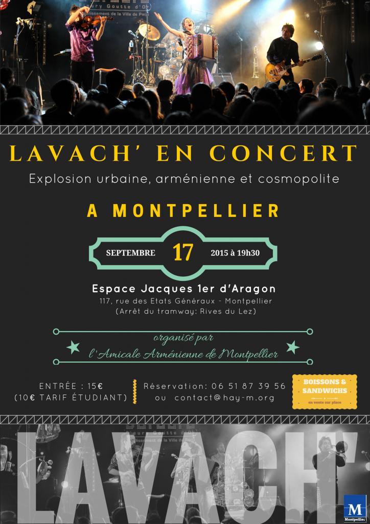 LAVACH' en concert