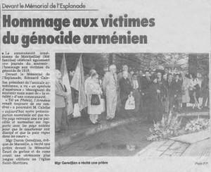 Commémoration 24 avril 1996