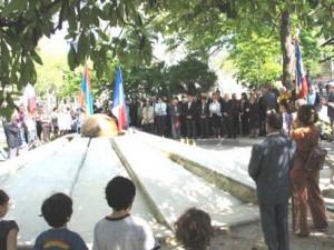 Commémoration 25 avril 2010