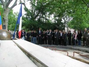 Commémoration 29 avril 2012